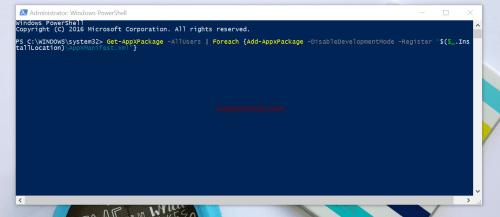 taskbar not responding in Windows 10