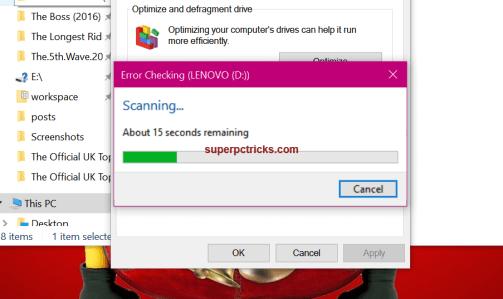 windows detected a hard disk problem virus