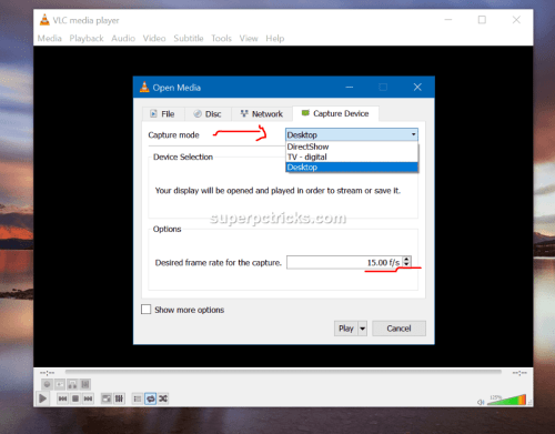 vlc screen recorder download