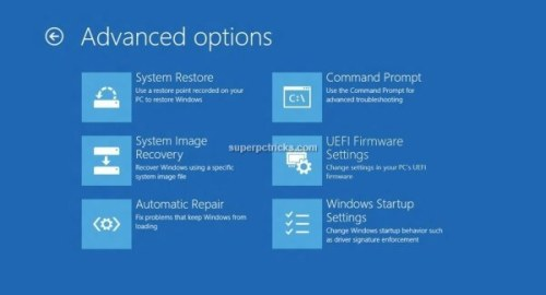 windows could not update the computer's boot configuration hp