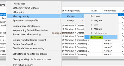 set a program to high priority windows 10