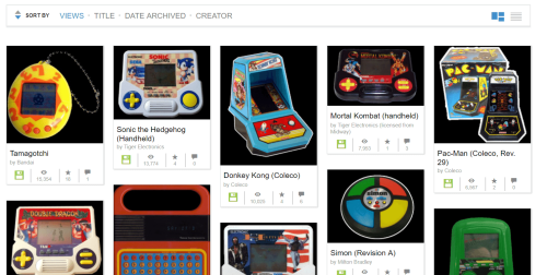 Play Retro Handheld Games
