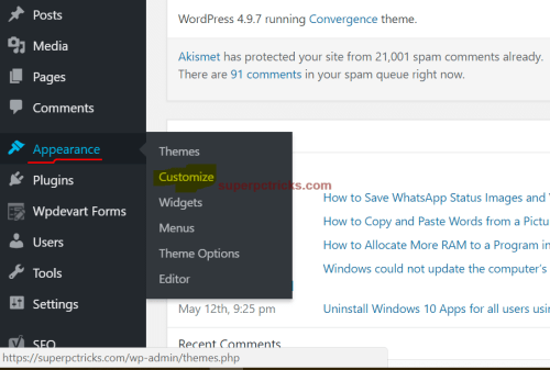 wordpress image not centering