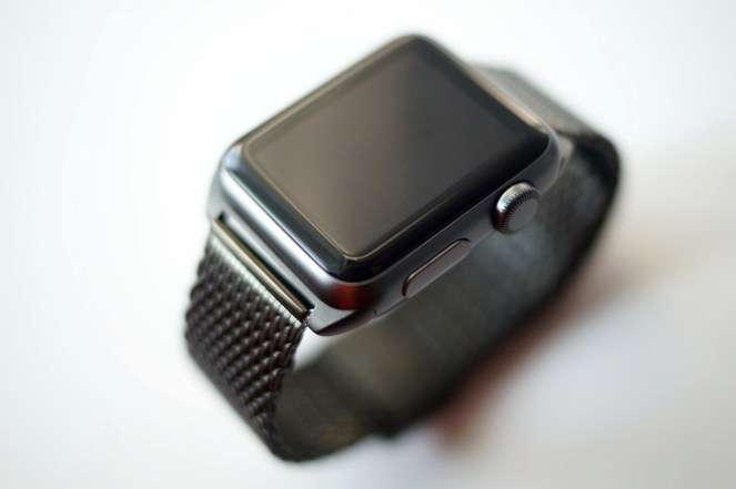Monowear Black Mesh Band
