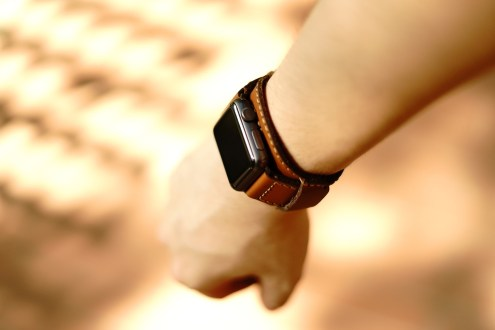 Black Forest Leather Cuff C3 08