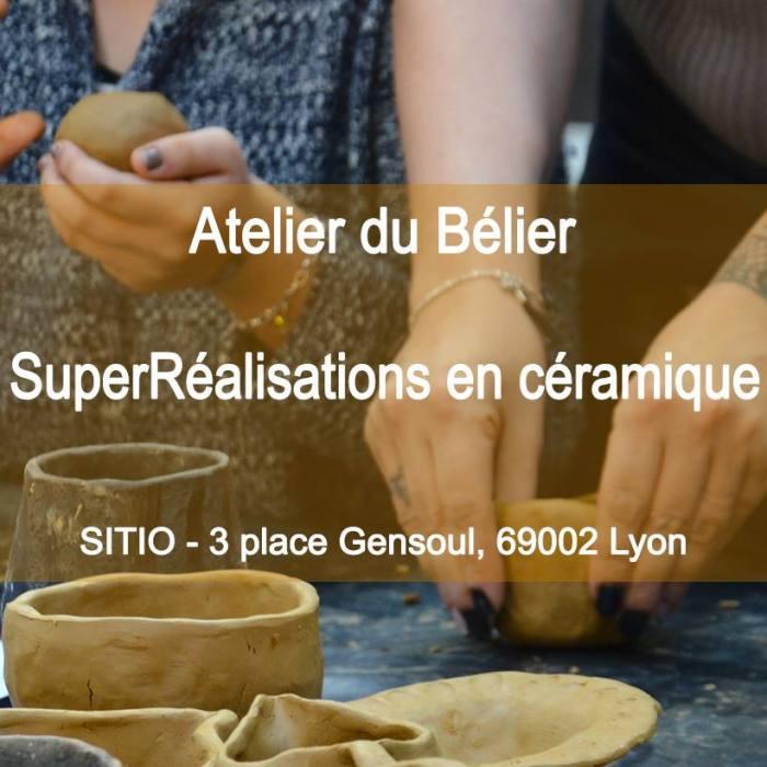 SuperRéalisations en céramique | l'Atelier du Bélier