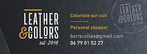 Atelier «Customisation de pièces en cuir» w/ Leather&Colors