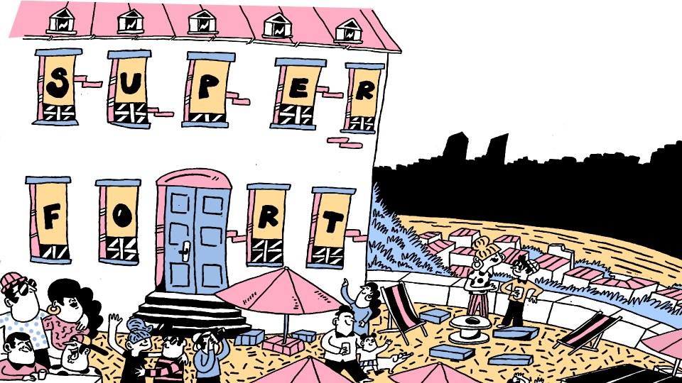 Le Fort Superposition illustré par Bouda