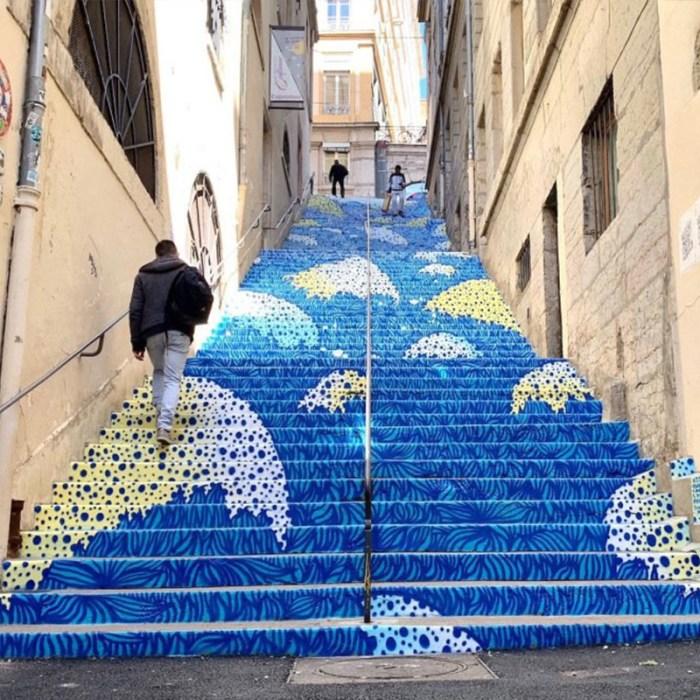 Les Escaliers Mermet à Lyon – 2019