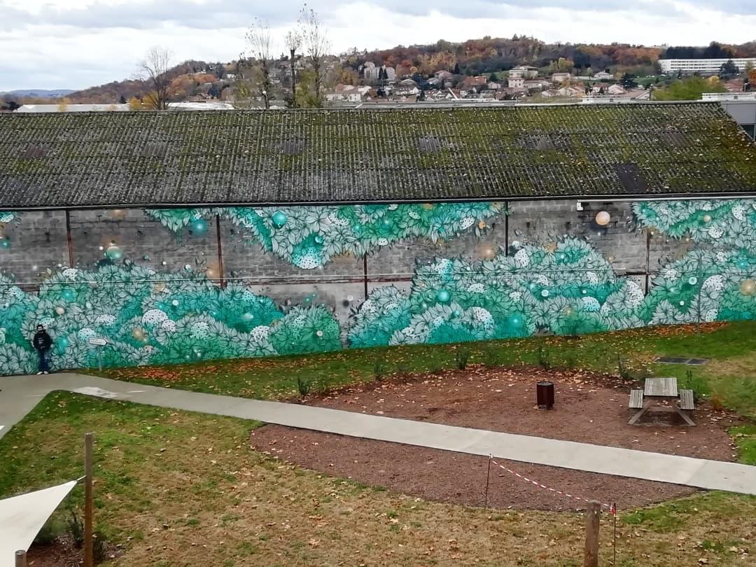 Fresque murale d'ampleur – 2019