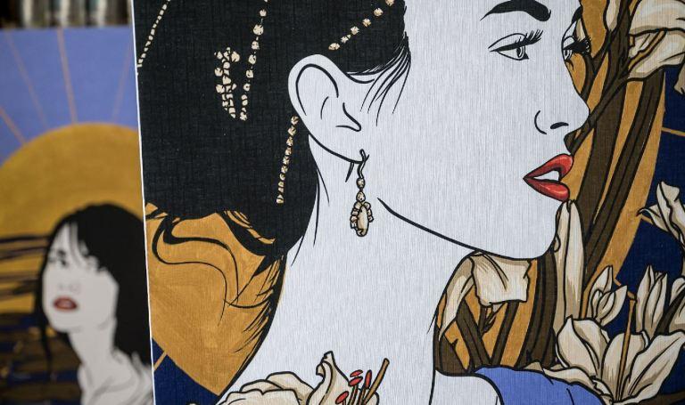 exposition de florina à lyon portrait kahlo