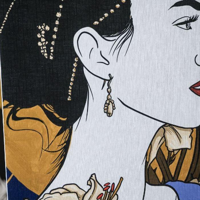 Les portraits, les fresques murales et les femmes de Florina Aledo-Perez