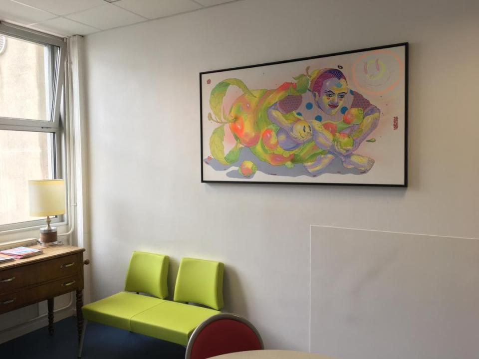 Oeuvre Yandy Graffer_Hôpital de la Croix-Rousse