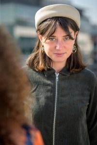 Orbiane Wolff, fondatrice et directrice de Superposition et chargée de la curation de Spraying Board