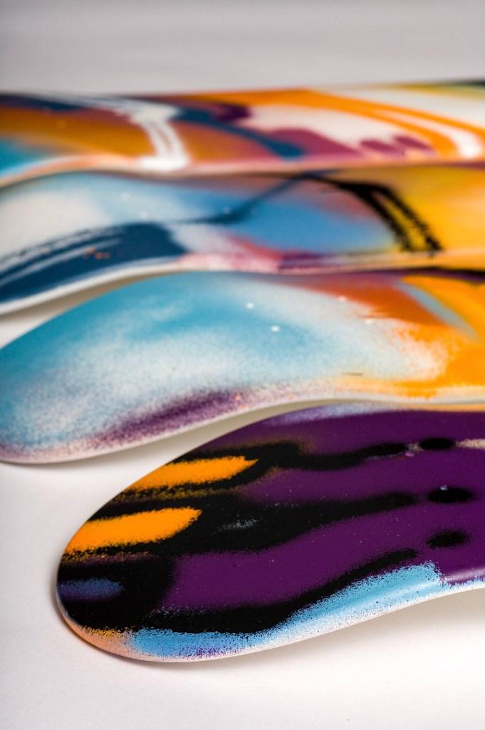 Skateboards par Babs pour la Spraying Board