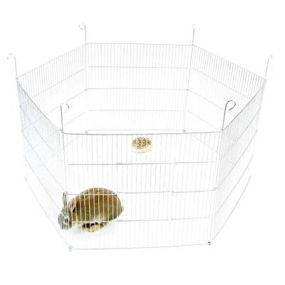 Kojec dla królika, świnki morskiej lub innego gryzonia - 6 elementowy