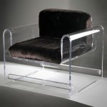 Monroe-chair-with-faux-mink-upholstery
