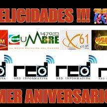 Hoy Primer Aniversario Red Informativa de Puerto Rico@redinfopr