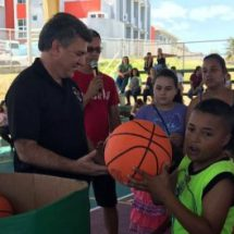 Residencial isabelino estrena instalaciones deportivas