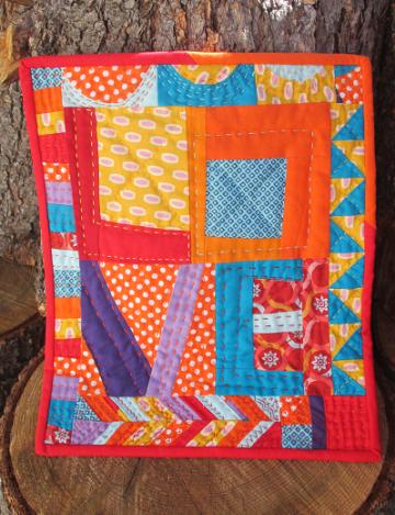 Love mini quilt