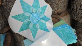 Star Dahlia Quilt Block