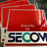 SECOM STICKER