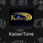 KaiserToneと言うアプリ