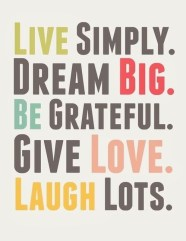 Simple Life Rules...