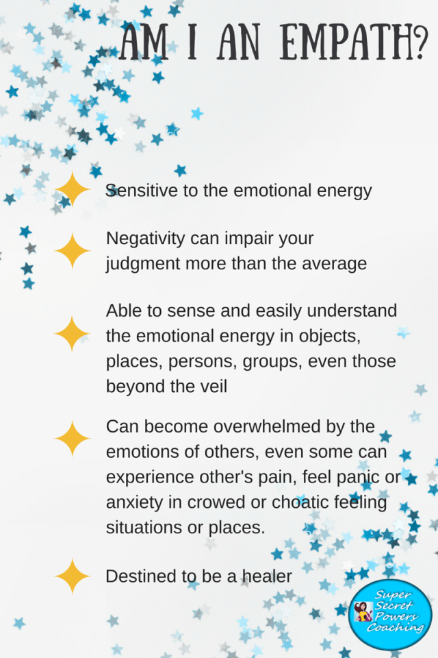 Am I an Empath infographic