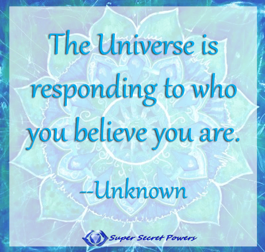 grouding is manifestation: the universe is responding to who you think you are