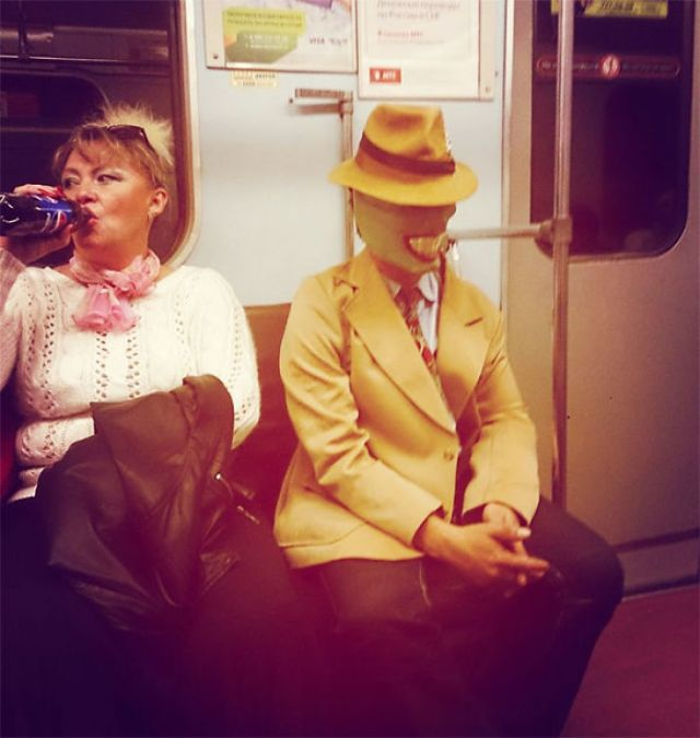 Meanwhile In The Russian Subway