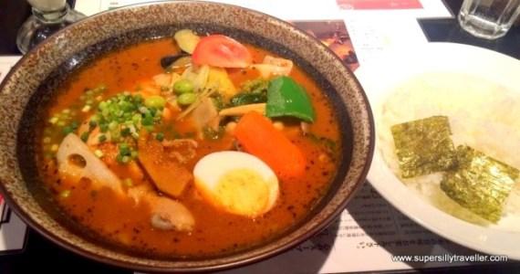 Cocor Soup Curry Sapporo