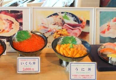 Seafood in Hokkaido