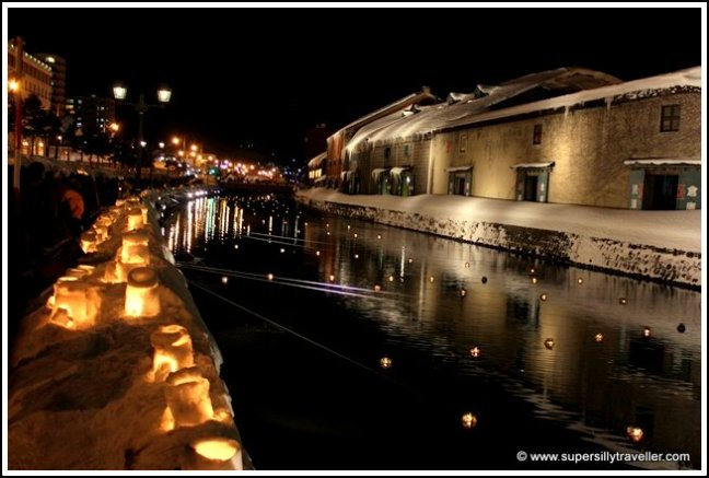 Otaru Canal Lantern Festival