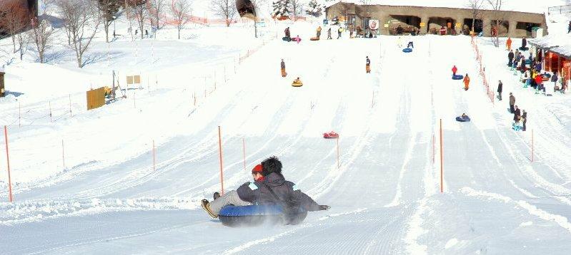 Icetubing Hokkaido