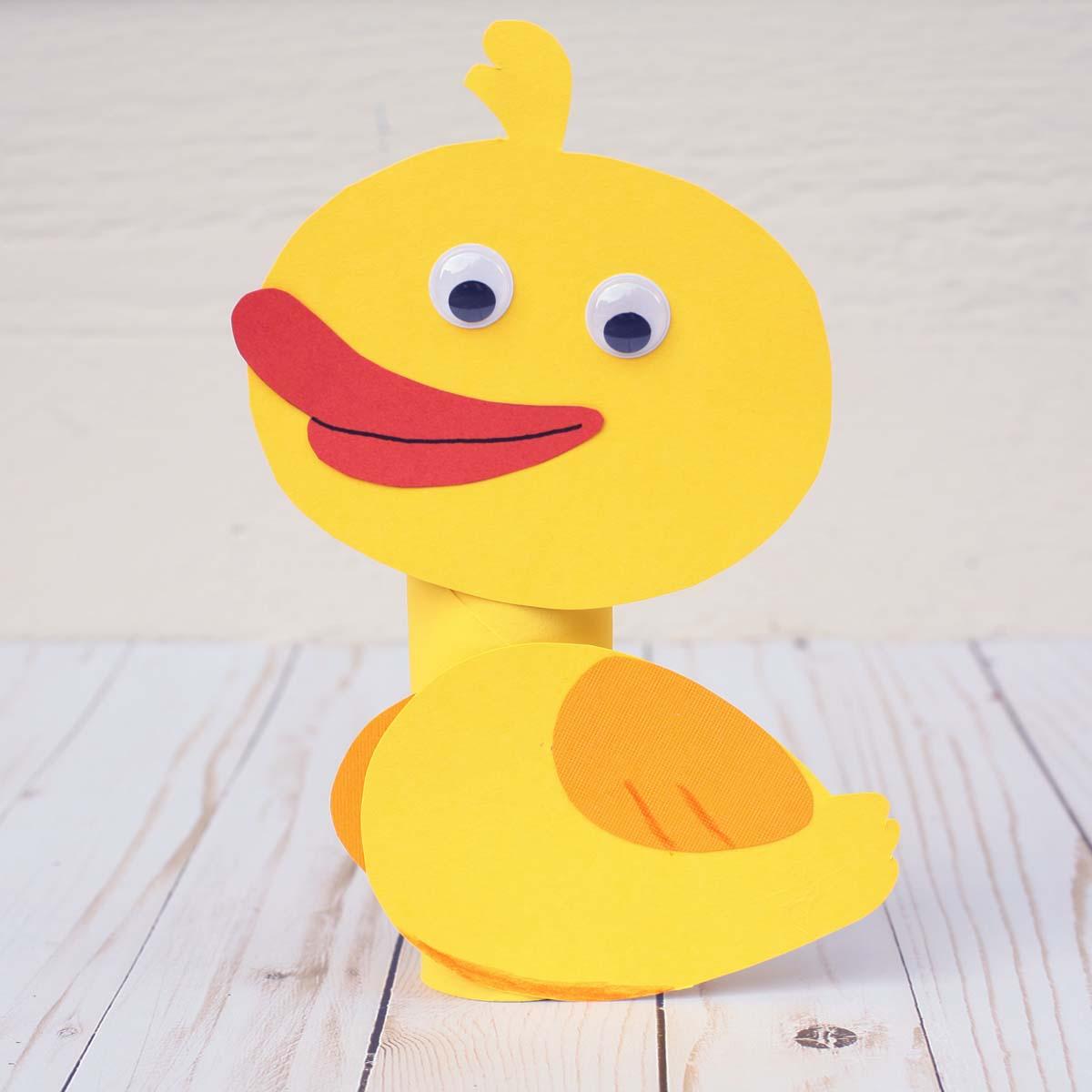 Five Little Ducks Amp Mother Duck Craft