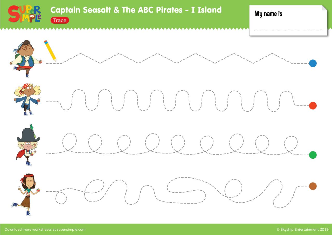 Captain Seasalt And The Abc Pirates I