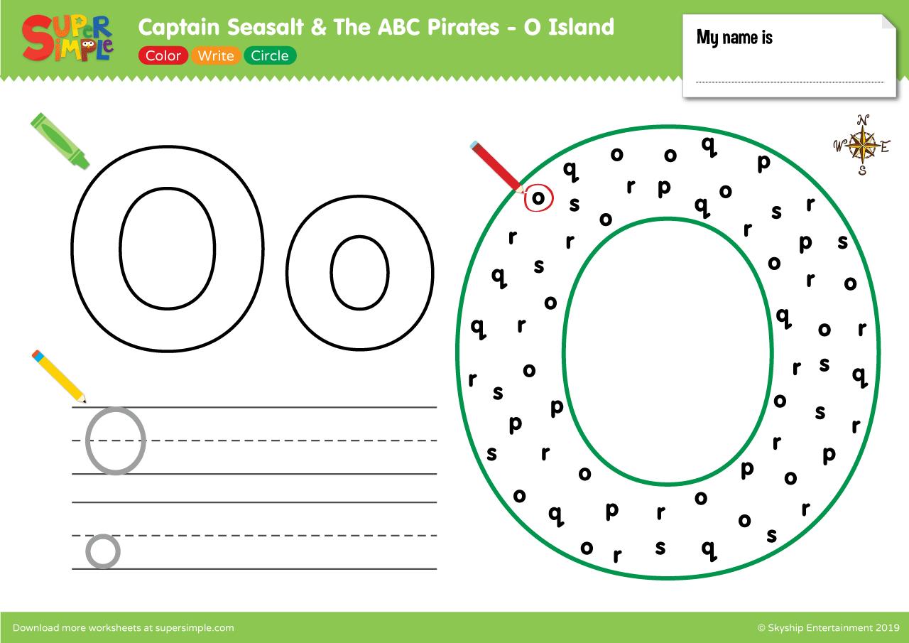 Captain Seasalt And The Abc Pirates O