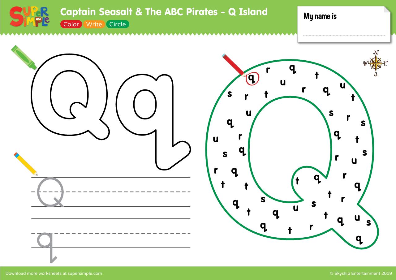 Captain Seasalt And The Abc Pirates Q