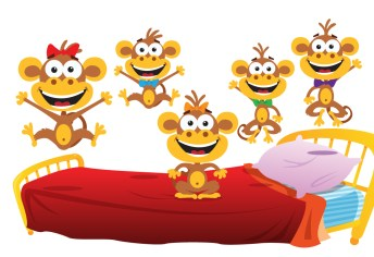 Resultado de imagen de five little monkeys super simple songs