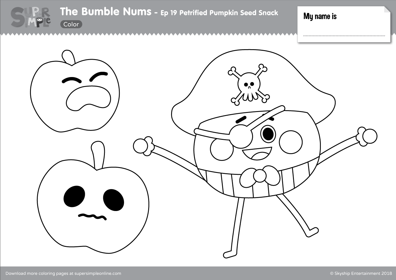 The Bumble Nums Color