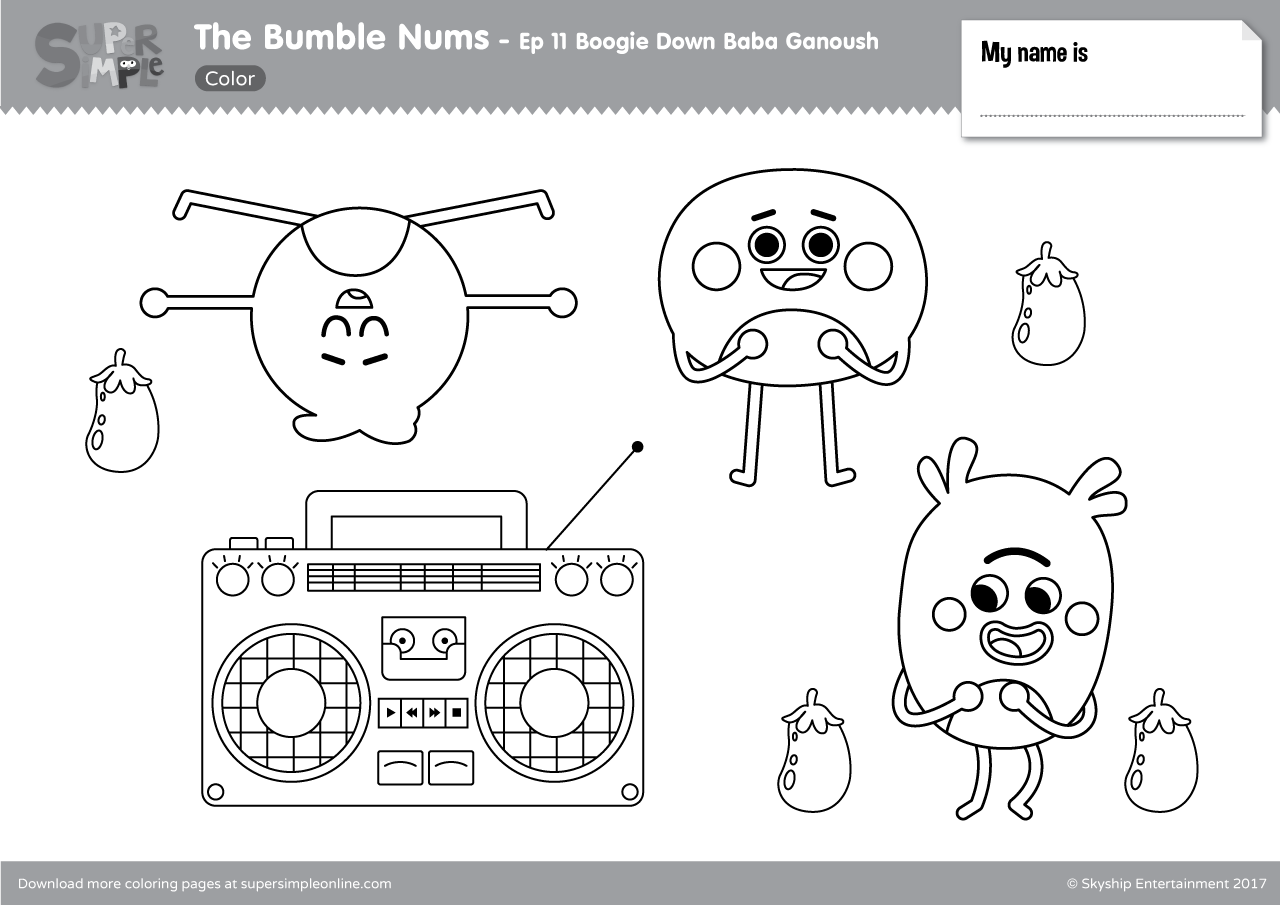 The Bumble Nums Episode 11 Boogie Down Baba Ganoush