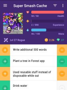 Habitica screenshot
