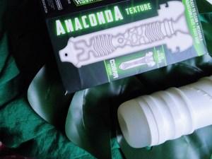 Diagram of Zolo Twist Anaconda stroker internal texture