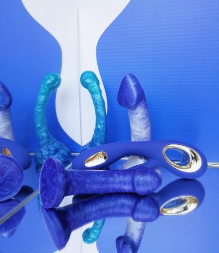 Uberrime Praesto, Tantus Sport, & Silc Arts Renaissance dildo reviews 5