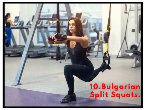 TRX exercises. HIIT circuit. TRX workout beginner. Core stability exercises.