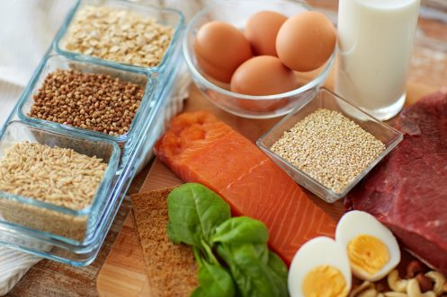 Protein sources.
