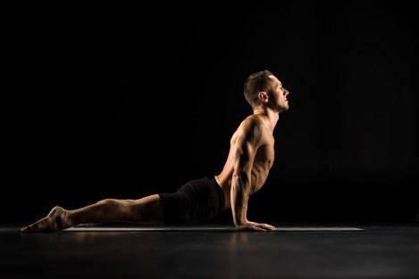 Cobra Pose. Asana. Back stretches. Flexibility. Core Training. Posture improving exercises.