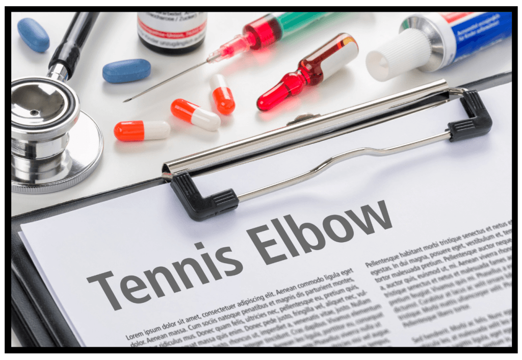 Tennis Elbow diagnosis. Injury and Prevention. Super Soldier Project.
