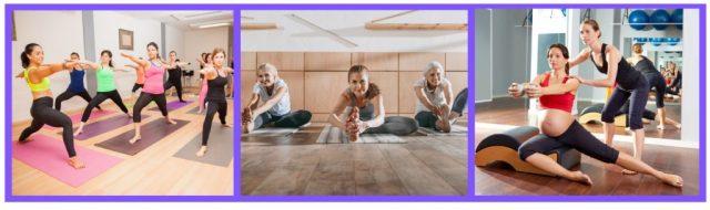 Prenatal Yoga. Iyengar. Hatha. Asanas. Vinyasa. Flexibility. Core Training. Balance.